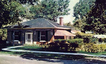 Dressler House in the 50s