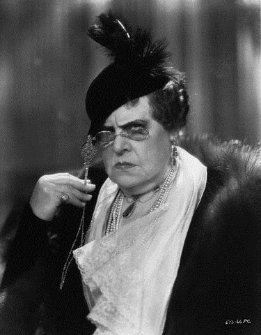 Marie Dressler in Dinner at Eight